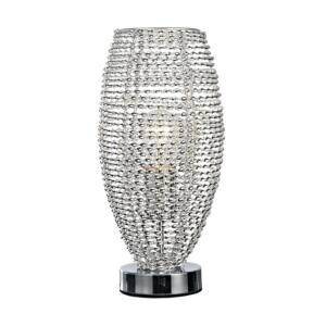 Sceleton asztali lámpa e27/60w króm/ezüst ↕33cm