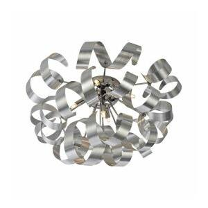 Ribbon mennyezet lámpa 5xg9/33w matt alu/króm