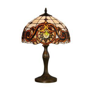 Tiffany asztali lámpa 1xe27/60w ø30cm