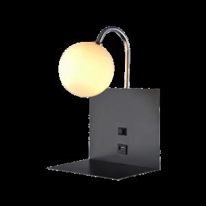 Timok 4201 Fali Lámpa 1Xe14 Chrome - Elmark