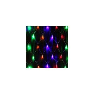 Blugamix led karácsonyi fényfüggöny 2x3m-piros,zöld,kék-Orion-BMCL-LNL2030RG