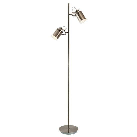 Peter állólámpa E27 2xmax15W antik bronz - Rábalux