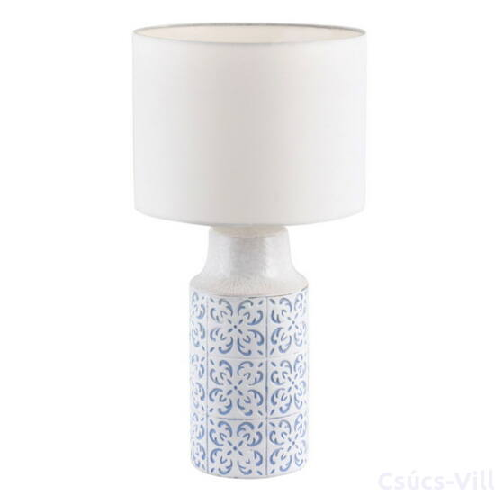 Agnes,szövet búrás asztali lámpa, romantikus stílusban - Rábalux