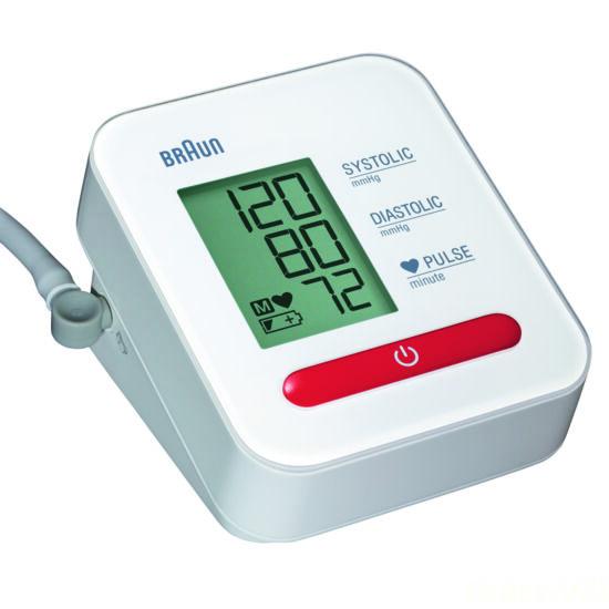 BRAUN -  Vérnyomásmérő, felkaros