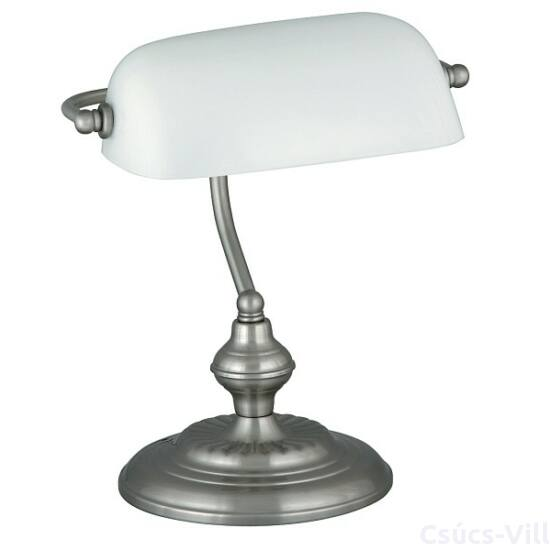 Bank íróasztali lámpa, H33cm,