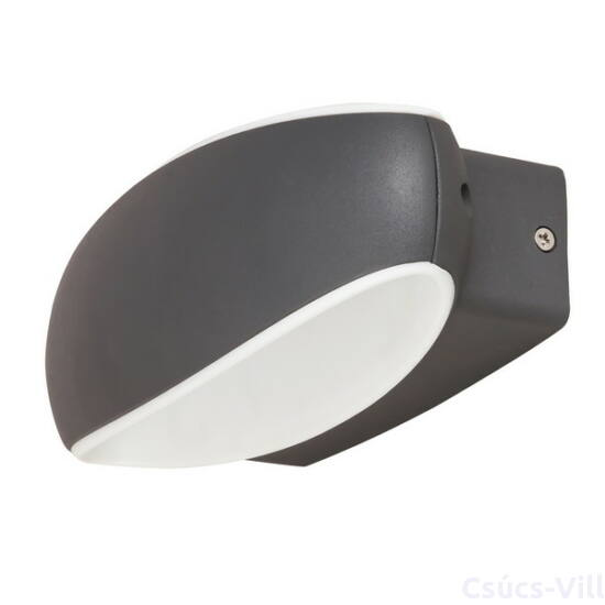 Bristol kültéri lámpa.fali LED 9W antracit IP54