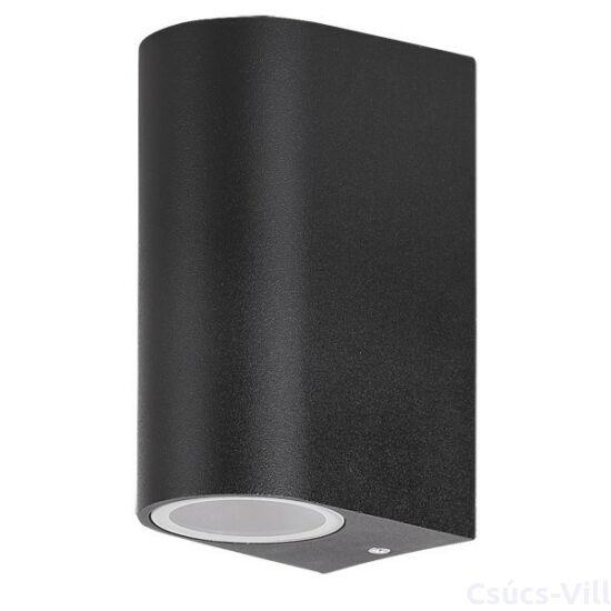Chile kültéri lámpa fali GU10 2x35W fekete IP44