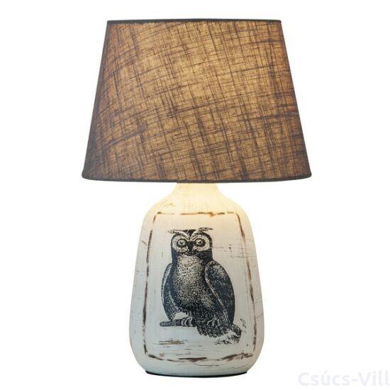 Dora asztali lámpa E27 may 40W bagoly - Rábalux