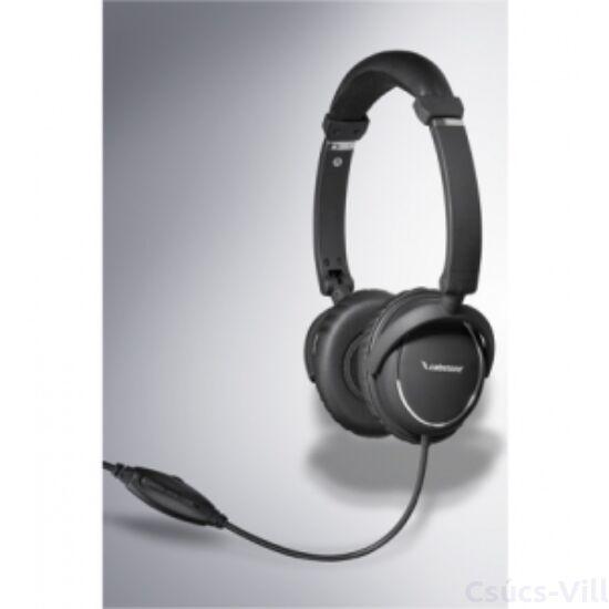 Cabston- multimédiás fejhallgató, állítható, összecsukható- fekete