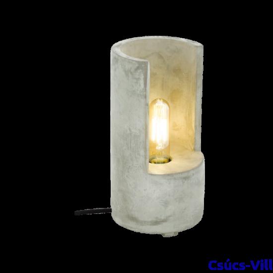 Asztali lámpa E27 1x60W 27cm beton Lynton