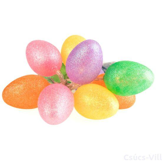 Eko-Light-Húsvéti tojás glitter szinekkel-led