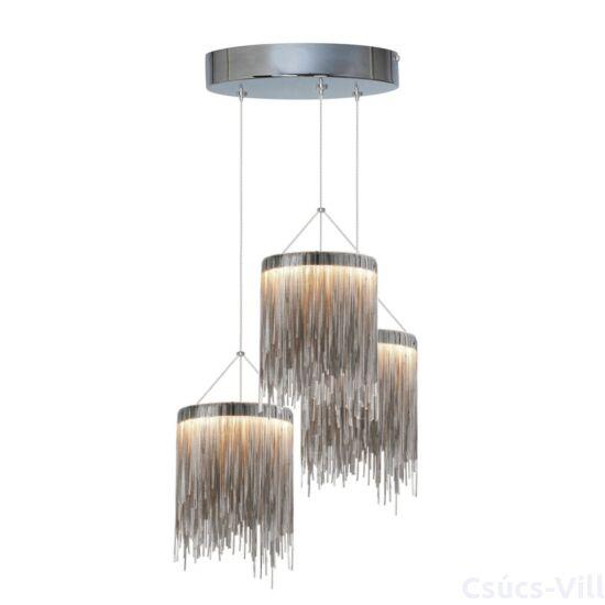 Milagro - CASCATA szatén - függeszték 3-as szatén 54W LED