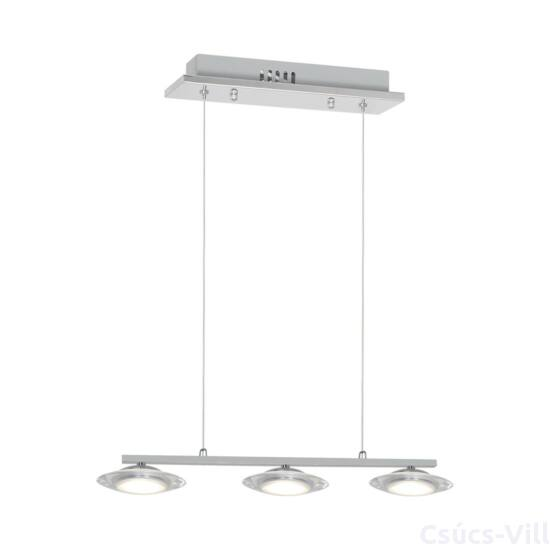 Milagro - ELLIPSE - függeszték lámpa - króm 3-as 15W LED