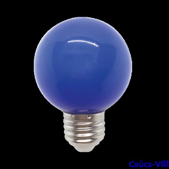 Színes Led Izzó gömb, kék G45 3W E27 - Elmark