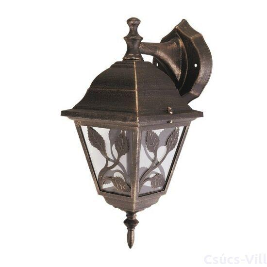Haga kültéri lámpa fali E27 60W, antik arany IP44