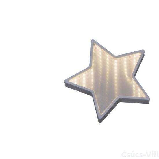 Laila, tükröződő dekorációs fali lámpa, 2xAA- Rábalux