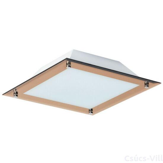 Lars, modern minimalista stílusú menyezeti lámpa, beépített LED-el, 400x400 - Rábalux