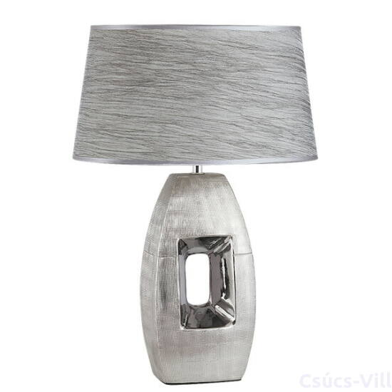 Leah kerámia asztali E27 40W ezüst - Rábalux