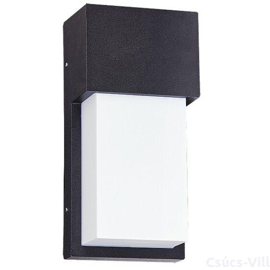 Leeds kültéri lámpaéri fali E27 15W fekete IP44