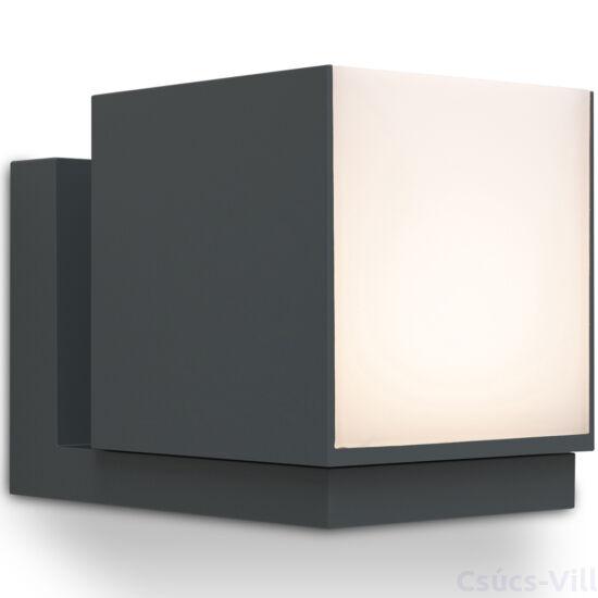 Cuba kültéri LED fali lámpa  1 light dark grey