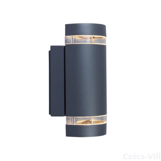 Focus Round kültéri fali lámpa Up & Down 1 light GU10 dark grey