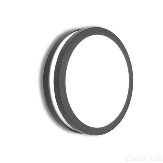 Titan Round medium kültéri fali lámpa/mennyezeti 1 light E27 dark grey