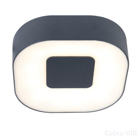 Ublo kicsi négyzet kültéri LED fali lámpa/mennyezeti  1 light silver