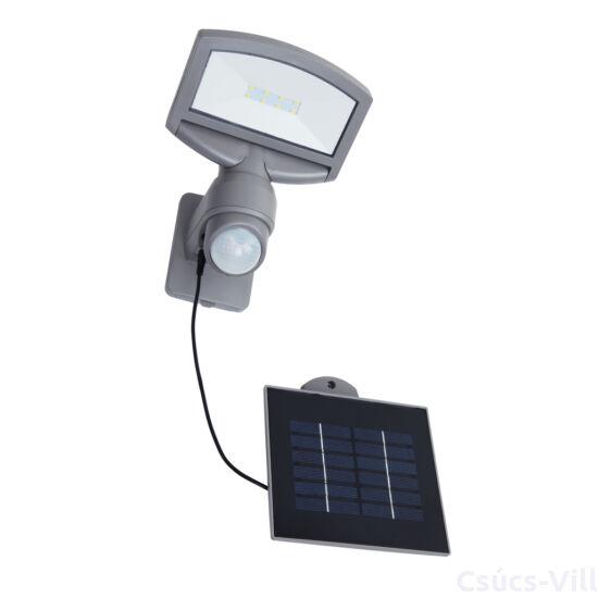 Napelemes LED fali lámpa 1 light Mozgásérzékelővel silver grey plus solar panel