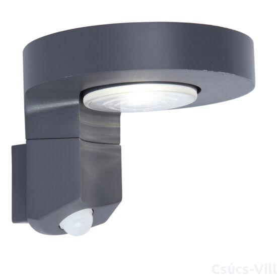 Diso kültéri LED fali lámpa 1 light mozgásérzékelővel dark grey