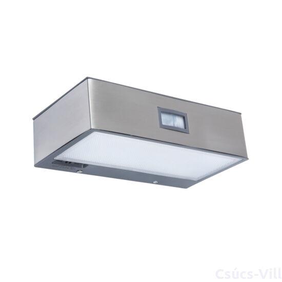 Brick kültéri fali lámpa 1 light stainless steel - mozgásérzékelő