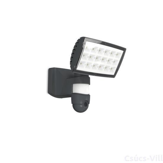 Peri kültéri LED fali lámpa Mozgásérzékelővel- Kamerával felszerelt -  1 light dark grey