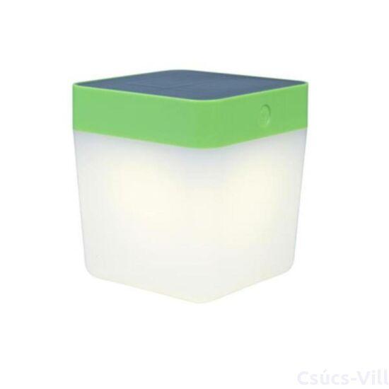 Table Cube solar LED Hordozható 1 light green