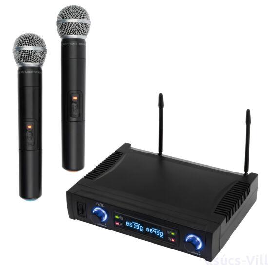 Penelope ébr.óra+rádió LED1,8W+2,7W RGB- Rábalux