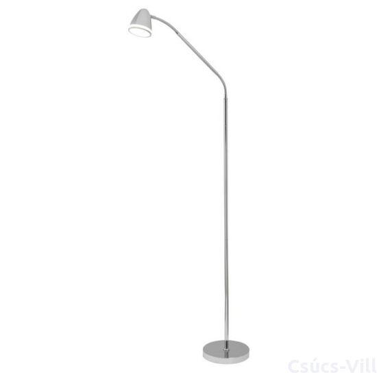 Aaron, LED Martin, álló lámpa beépített LED-el - Rábaluxolvasókarral, szatin króm