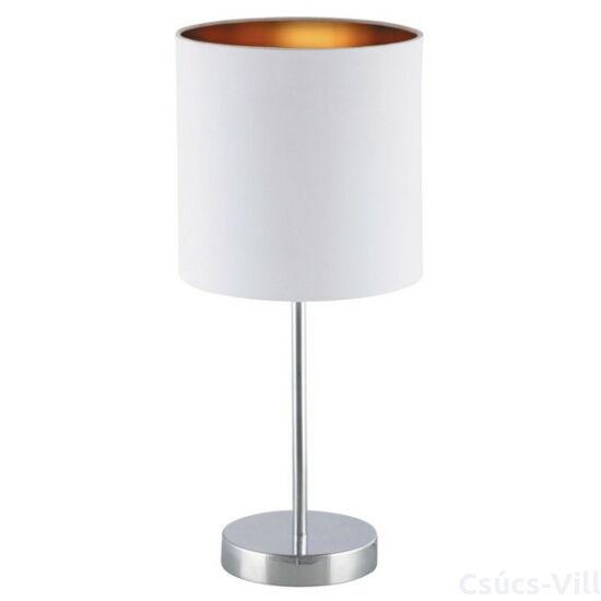 Monica, modern stílusú asztali lámpa, belső része arany fóliázott - Rábalux