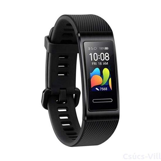 Huawei Band 4 Pro aktivitásmérő karpánt fekete