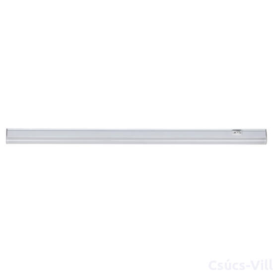Greg, pultmegvilágító, fehér, beépített LED 16W 2100lm 4000K, sorolható, kapcsolóval, H1170mm