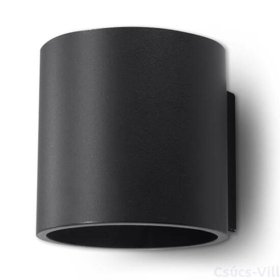 Fali lámpa -  ORBIS 1 fekete