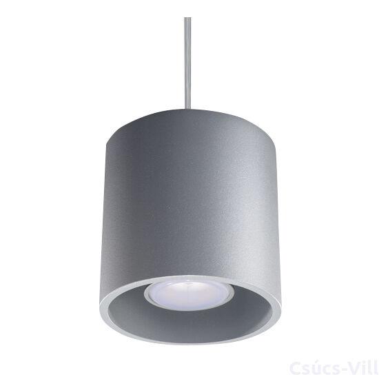 Sollux - Függeszték lámpa - ORBIS 1 szürke