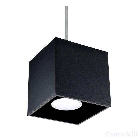 Sollux - Függeszték lámpa - QUAD 1 Fekete