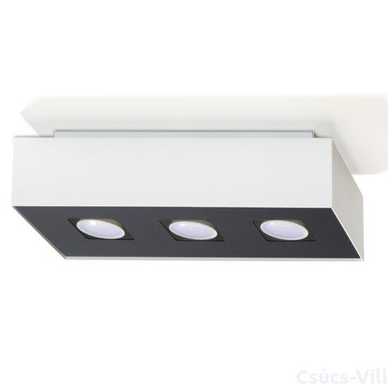 Sollux - Mennyezeti lámpa -  MONO 3 fehér