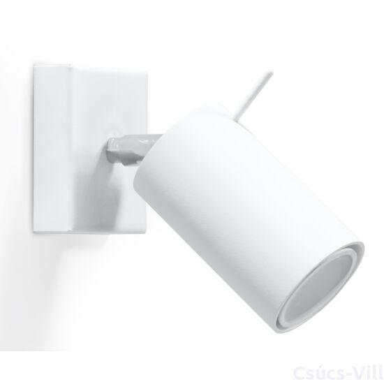 Fali lámpa -  RING fehér