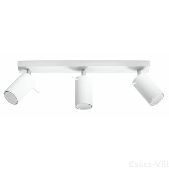 Sollux - Mennyezeti lámpa -  RING 3 fehér