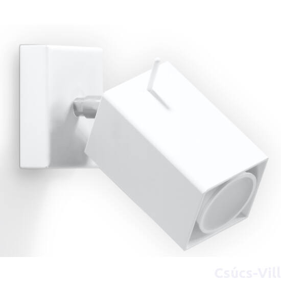 Fali lámpa -  MERIDA fehér