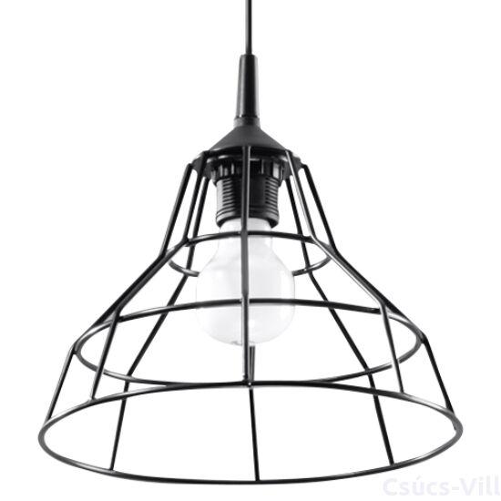 Sollux - Függeszték lámpa - ANATA Fekete
