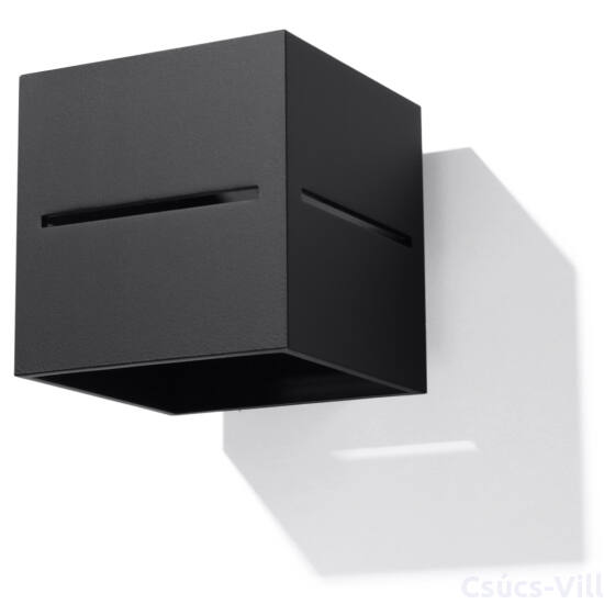 Fali lámpa -  LOBO fekete