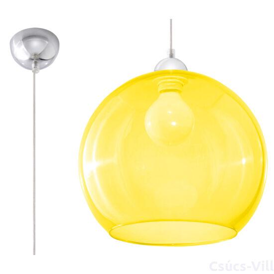 Sollux - Függeszték lámpa - BALL sárga