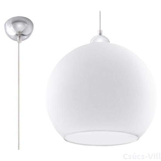 Sollux - Függeszték lámpa - BALL Fehér