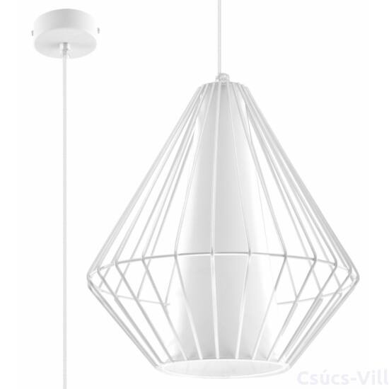 Sollux - Függeszték lámpa - DEMI Fehér