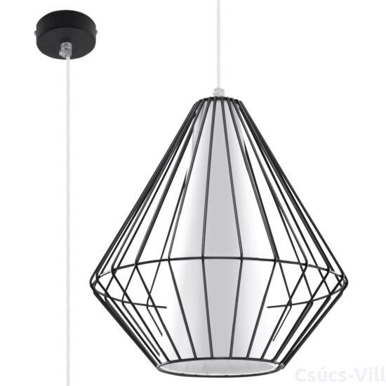 Sollux - Függeszték lámpa - DEMI Fekete